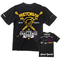 Camiseta Pretorian Open Challenge 1st Edition Preta