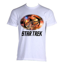 Camiseta Star Trek Jornada Nas Estrelas Ds9 P A Gg
