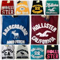 Kit C/ 10 Camisetas Hollister Abercrombie Atacado Revenda