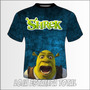 Camiseta Infantil Shrek - Model 02 - Camisa