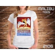 Baby Look Led Zeppelin Bandas Rock Camiseta