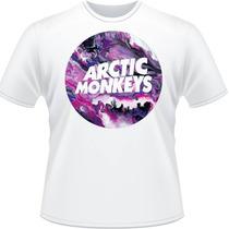 Camiseta Arctic Monkeys Purples Do I Wanna Know Camisa