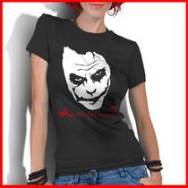 Camiseta Personalizada Feminina Coringa Charada Joker Batman