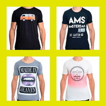 Camisetas John John, Osklen, Calvin Klein, Reserva, Sergio K