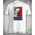 Camiseta Hannibal Lecter Terror 100% Poliéster #2217