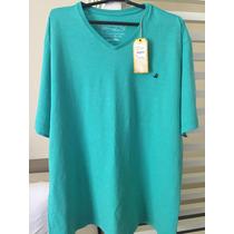 Camiseta Brooksfield G Verde Claro - Água