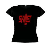 Camiseta Baby Look Skillet