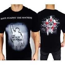 Camiseta De Banda - Rage Against The Machine