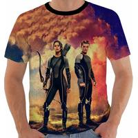 Camiseta Jogos Vorazes - Hunger Games - Katniss Everdeen