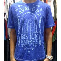 Camiseta Cavalera Black Market Original