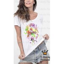 Baby Look T- Shirt Filtro Dos Sonhos Personalizada