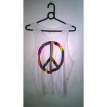 Camiseta Símbolo Da Paz Cavada Customizada - Shopfire ®