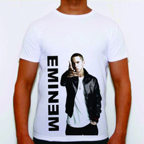 Camisa Personalizada Eminem The Slim Shady Swag Hiphop Plt