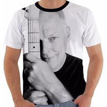 Camisa Camiseta Regata Baby Look David Gilmour Pink Floyd