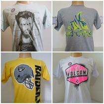 Camisetas Originais - Varias Marcas E Modelos