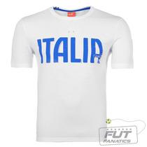 Camiseta Puma Itália Graphic Tee Branco - Futfanatics