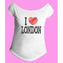 Camiseta Feminina G. Canoa Inglaterra Reino Unido Londres 13