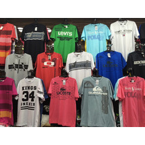 Kit C/ 40 Camisetas Hollister, Atacado