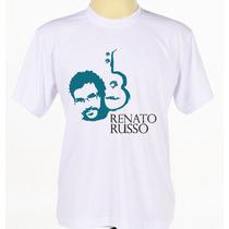Camiseta Camisa Estampada Renato Russo Legião Urbana