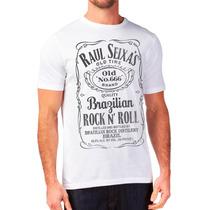 Camisa Raul Seixas - Jack Daniel´s - Em Silk Screen