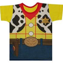 Camiseta Infantil Do Woody (toy Story)