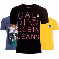 Camisetas Calvin Klein | Osklen | Hollister | John John Polo