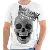 Camiseta Camisa Caveira Diamond Coroa - Camisa De Caveira 20