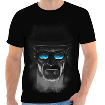 Camisa, Camiseta Breaking Bad - Heisenberg, Walter White