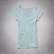 Camiseta Feminina Abercrombie Camisas Polos Tommy Hollister