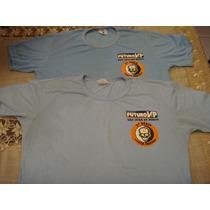 Futuro Vip Lote Com 2 Camisas Blusas Camiseta Tam 12/14 Anos