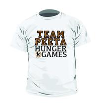 Camisa Filme Jogos Vorazes The Hunger Games Peeta Mellark