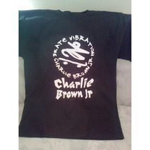 Camiseta Charlie Brown Jr. Justin Bieber One Direction