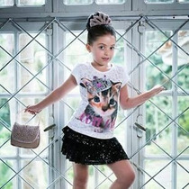 Blusa Mc Cute Cat Pituchinhu