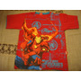 Marvel Heroes Blusa Camiseta Vermelha Tam. 8 Anos