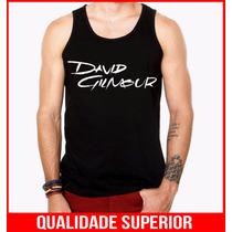 Camiseta Regata Masculina David Gilmour Pink Floyd Bandas