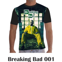 Camisa Camiseta Séries Personalizada Breaking Bad