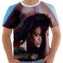Camiseta Rihanna - Sensual - Modelo 8 - Autografo
