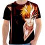 Camiseta Camisa Masculina Anime Otaku - Bleach 02