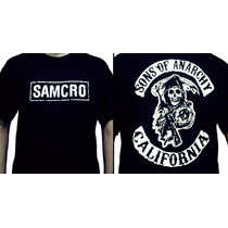 Camiseta Sons Of Anarchy - Camisa Seriado Samcro, Davidson