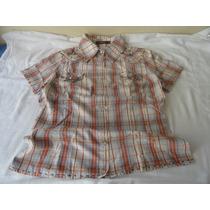 Camisa Xadrez Feminina Tamanho P