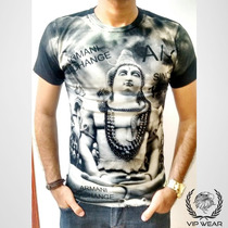 Camisa Camiseta Masculina Armani Exchange Preta Frete Gratis