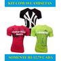 Kit 10 Camisetas Masculinas Baratas Marcas Famosas