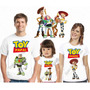 Kit 3 Camiseta Aniversário Festa Personalizada Toy Story