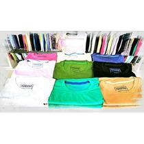 5 Camisetas Basicas 100% Algodão Por R$ 109,90