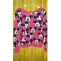 Blusa De Frio De Tricot - Lã - Malha - Mickey