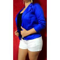 Blazer/casaco Feminino Social Barato