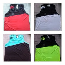 Kit 10 Camiseta Regata Adidas Masculina Academia Revenda