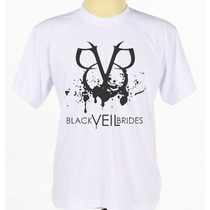 Camiseta Personalizada Banda Black Veil Brides Bvb Rock Rap
