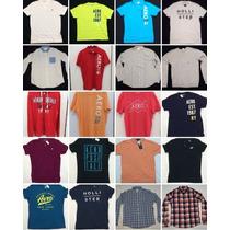 Camisetas Importadas 100% Originais Hollister E Aeropostale