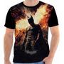 Camisa, Camiseta Batman - The Dark Knight Rises, Super Herói